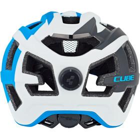 Cube Quest Casco, blue/white/black